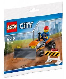 LEGO CITY POLYBAG TRACTOR 30353 CONSTRUCTION BUILDING