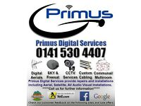 Digital TV Aerial & SKY engineer, TV Wall Mount, aerial & satellite dish repair & installer