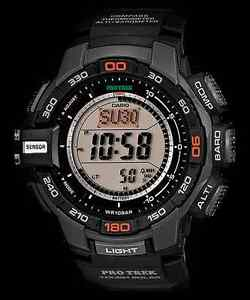 Casio-ProTrek-PRG270-1-Black-Wristwatch-Triple-Sensor-Version-3-PRG-270-1