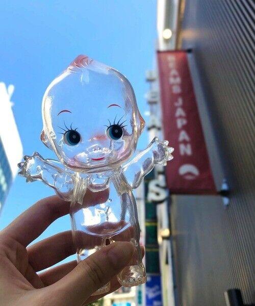 Obitus x BEAMS JAPAN Limited Figure Kewpie Clear Doll L Size  Tracking# New