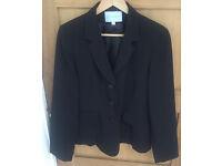 Atmosphere Black Suit Jacket Size 12