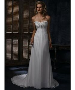 NEW Maggie Sottero Wedding Dress - Size 22-TAGS ON NO Alteration