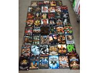 47 x WWE / WWF WRESTLING DVDS - JOB LOT