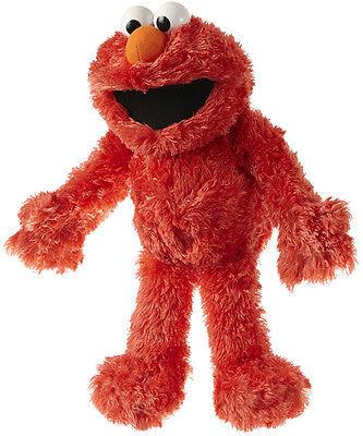 Matthies Sesamstrasse Plüschfigur & Handpuppe Elmo 35 cm (Rot) Plüsch Plüschtier