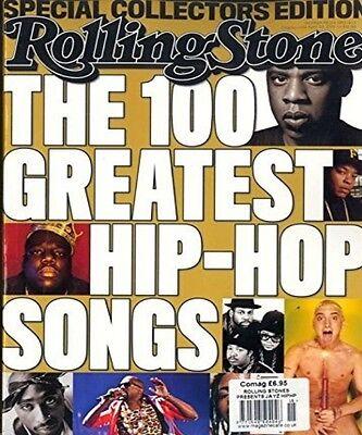 ROLLING STONE Rivista ~ COLLEZIONISTI Edition The 100 Greatest HIP HOP CANZONI