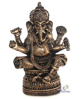 Ganesha Figur Deko Buddha sitzen auf Lotus Nr:H051