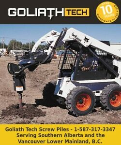 Building Foundation Materials with GoliathTech Screw Piles