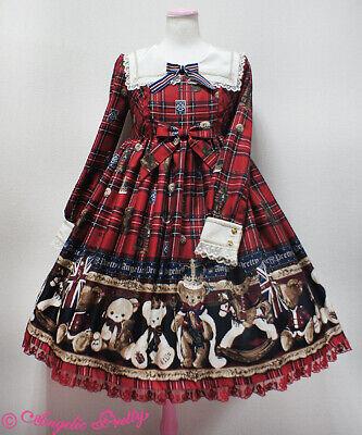 ANGELIC PRETTY REPLICA BRITISH BEAR LOLITA JSK DRESS