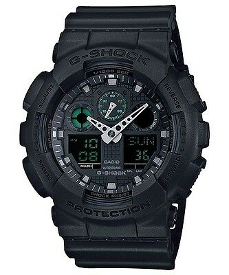 Casio G-Shock GA100MB-1A Mens Watch Limited Edition