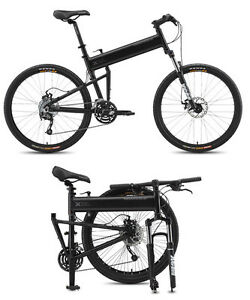 Full-Size 27-speed quality FOLDING MOUNTAIN BIKE  by Montague