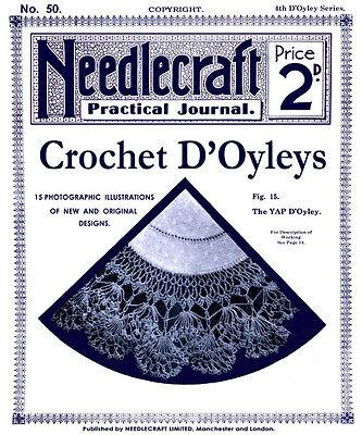 Шаблоны Needlecraft Practical Journal #50 c.1906