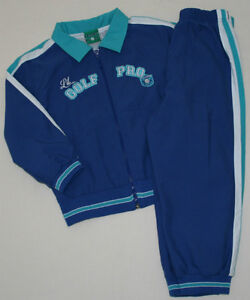BABY GOLF BOY 4 4T GOLF PRO LINED JACKET & PANT 2-PIECE ACTIVE