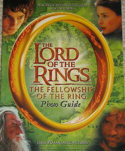 Lord of the Rings The Fellowship of the Ring Photo Guide Book London Ontario image 1