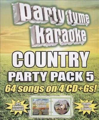 Usado, KARAOKE - PARTY TYME KARAOKE: COUNTRY PARTY PACK, VOL. 5 NEW CD segunda mano  Embacar hacia Argentina