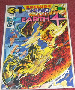 Deathwatch 2000 - Earth 4 and Armor - Continuity Comics Cambridge Kitchener Area image 3