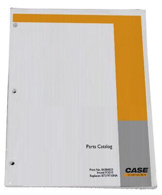Case Cx250c Excavator Parts Catalog Manual - Part 84411431