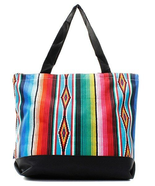 Serape Aztec Purse Totebag w/attached coin bag NGIL NWT Free