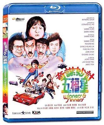 "Jackie Chan ""Winners and Sinners"" Sammo Hung HK 1983 Classic Blu-Ray"