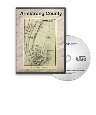 Armstrong County Apollo Pennsylvania PA History Culture Genealogy 5 Books D357
