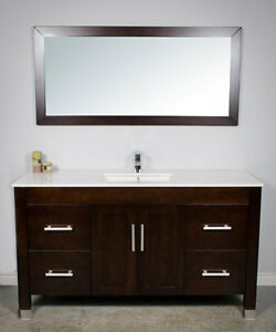 Bathroom Vanity Cabinet,all inclusive package deal. All wood