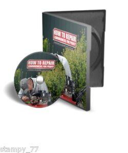 Petrol Lawnmower Service Repair Manual DVD