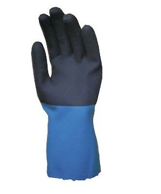 Mapa Stanzoil 12knit Lined Neoprene Coated Chemical Resistant Glove Per Pair Lg