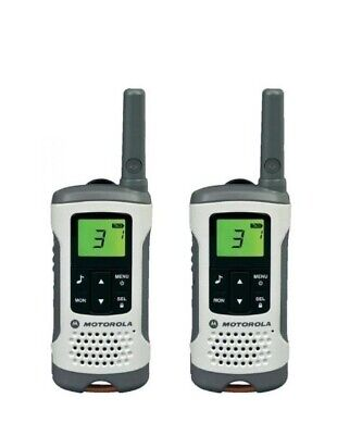 Motorola TLKR T50 Walkie Talkies, twin pack, licence free 446 radios