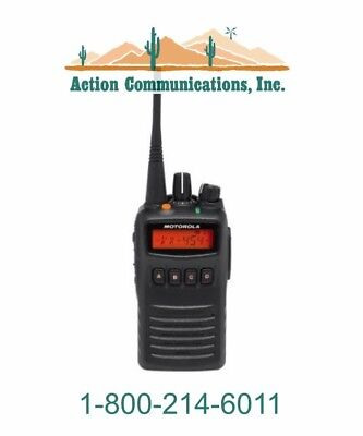 New Motorola Vx-454-d0-5 Vhf 136-174 Mhz 5 Watt 512 Channel Two Way Radio