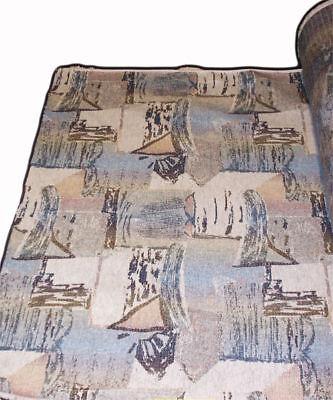 "54"" Quaker G&T Ovation Seashore Fabric #161603 Boat Seat Cushion RV Upholstery"