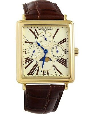 Frederique Constant Persuasion Moonphase Calendar Mens Swiss Watch FC-265EM3C5