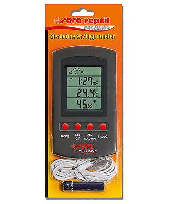 Sera reptil thermometer / hygrometer für Terrarium zur Dauermessung