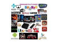 ANDROID SMART BOX LATEST VERSION 4K 3D DISPLAY (XMASS/NEW YEARS SALE BARGAIN MUST SEE LOOK !!!