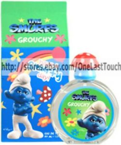 THE-SMURFS-Eau-de-Toilette-Spray-GROUCHY-1-7-oz-BIG-for-Boys-Girls-cologne