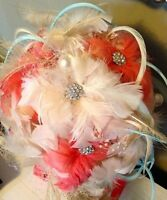 Custom Made Feather Bouquets