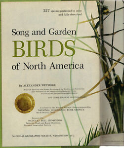 Song & Garden Birds of North America - Alexander Wetmore (NGS) West Island Greater Montréal image 2
