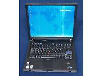IBM Thinkpad laptop - Windows 7 - Office 2010 - Wifi - Dvd