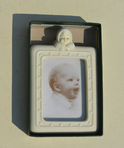 Dept 56 Snowbaby Picture Frame Collectible