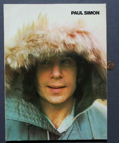 1972 Paul Simon pictorial songbook-Me & Julio down by the schoolyard-Photos!*