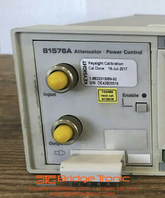 Agilent 81576a Variable Optical Attenuator Module