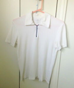 MENS ARMANI EXCHANGE WHITE SHIRT SIZE SMALL