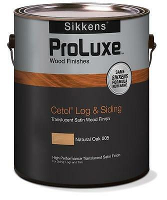 - SIKKENS PROLUXE Cetol Log & Siding Wood Finish Stain - 1 Gallon