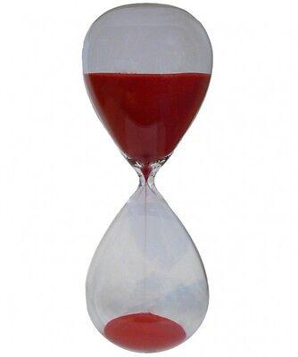 Sanduhr Stundenglas Sanduhren Eieruhr 60 Minuten 1 Stunde Roter Sand