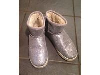 Sparkly River Island boots