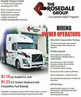 Cross Border AZ Owner Operators required