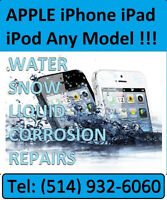 Apple water damage repair best service price! Meilleurs Prix!!