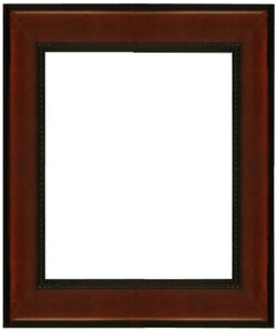 "Picture Frame Mahagony 2 1/4"" Wide Solid Wood size 16"" x 20"" for"