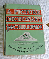 Picture Dictionary for Children (Collectors Book) 1945