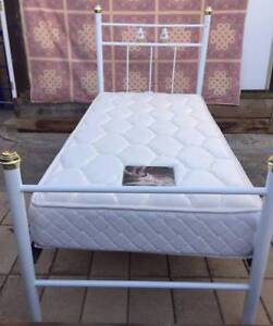 Almost New Metal Frame Single Beds for Sale.Delivery Available Bundoora Banyule Area Preview