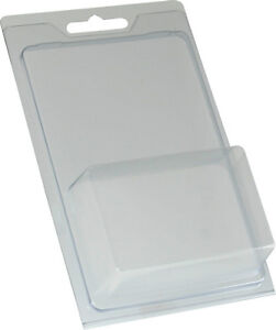 Clamshell plastic package - 4.6 in x 3.3 in x 1.5 in