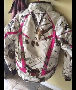 Woman's winter semi-floater FXR snowmobile jacket Kawartha Lakes Peterborough Area image 2